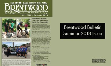 Brentwood Bulletin Newsletter Summer 2018