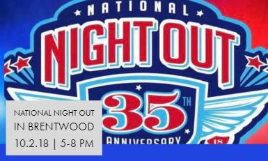 National Night Out 10.02.18