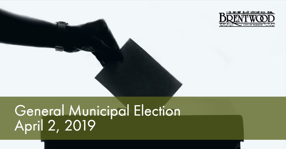 April 2019 Election