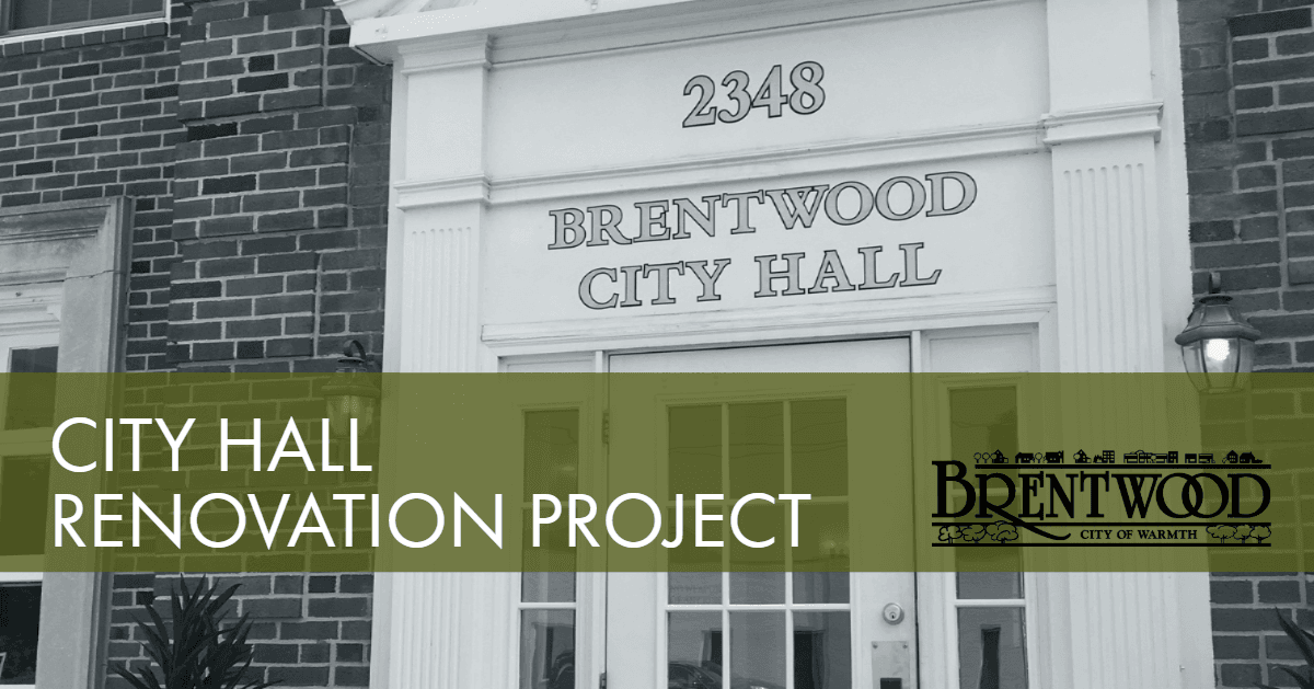 City Hall Renovation Project