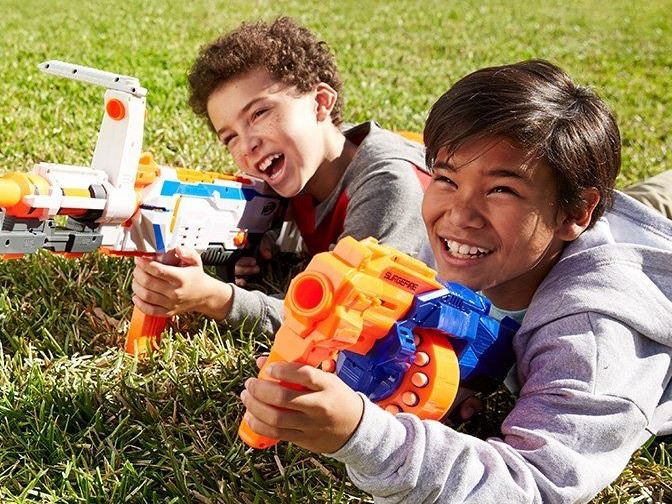 Nerf War in the Park