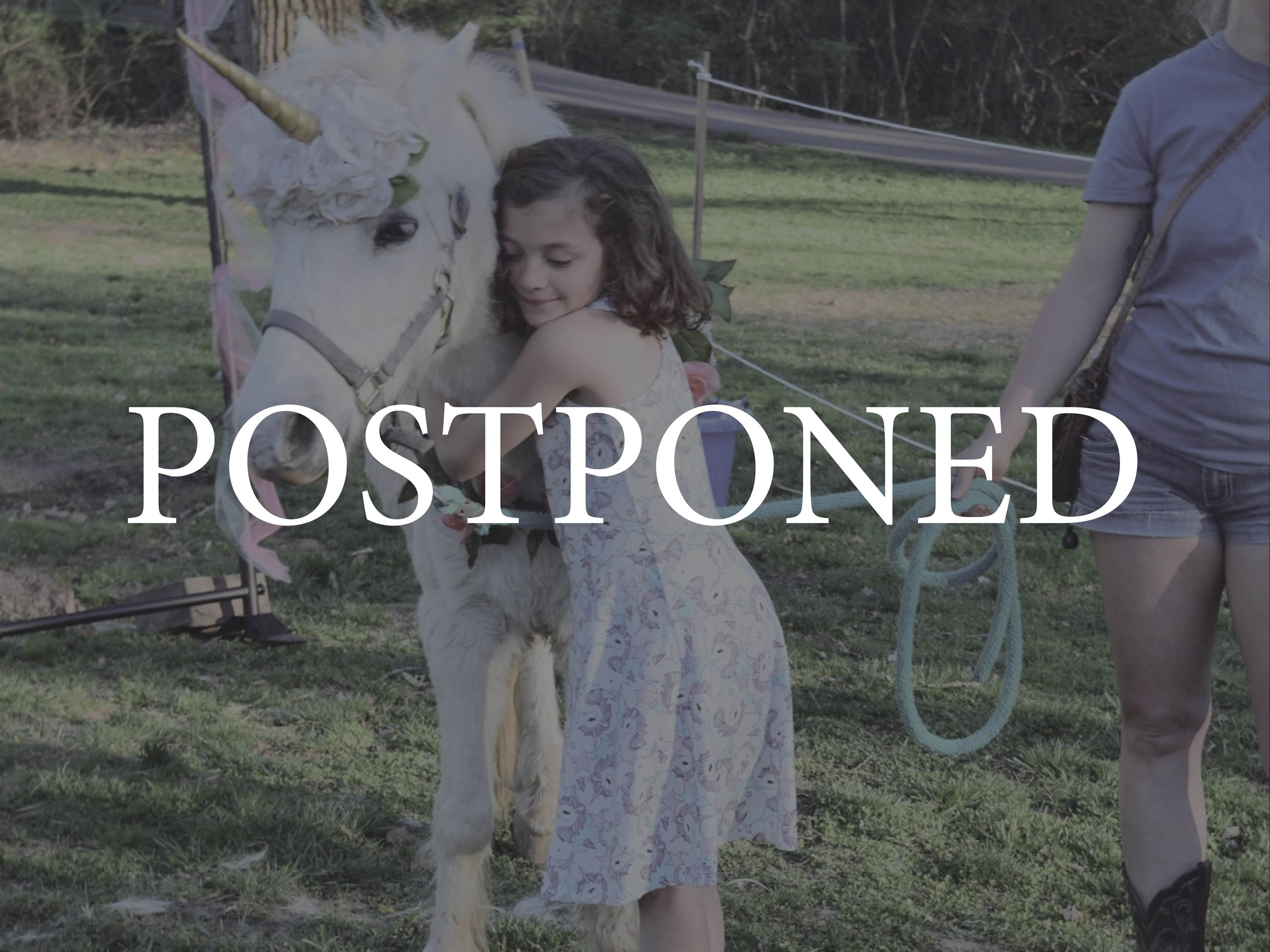 Unicorn Day Postponed