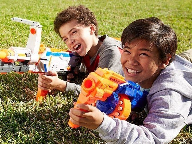 Nerf War at the Park