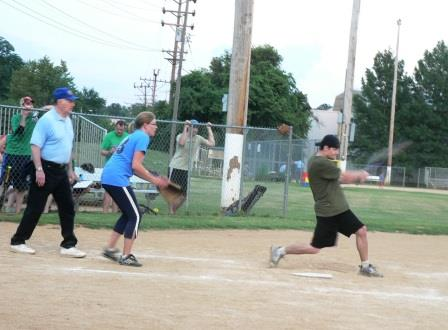 Co-Ed Softball Game