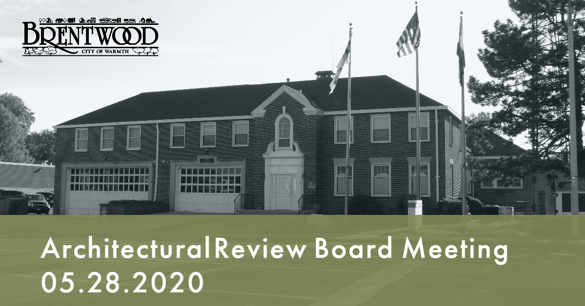 Architectural Review Board Meeting 5.28.2020